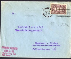 Infla Brief  Koln 9.3.23  219 EF - Briefe U. Dokumente
