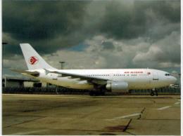 Thème -  Avion - Air Algérie - Airbus A310 300 - Orly 2006 - Tirage : 100 Ex - Coll Air Kalo Aviation - Flugzeuge