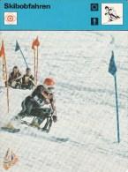 SKI NORDISCH-NORDIC SKIING-SCI NORDICA, Sammelkarte /Trading Card, 16x12cm, 1977-79, Ed. Rencontre, Lausanne - Sport Invernali
