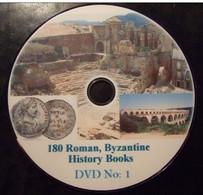 180 ROMAN,  BYZANTINE History Books Library. DVD1 - Books & Software