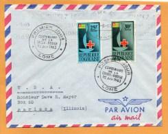 Togo 1963 FDC - Togo (1960-...)