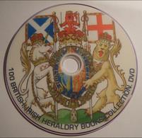 100 British, Scottish, Irish HERALDRY Books Reference Library. DVD - Books, Magazines, Comics