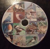 150 British Birds Guide, Catalogs Books. Ornithology Reference Library. DVD - Books, Magazines, Comics
