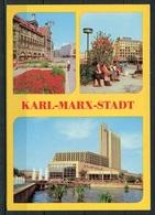 Karl-Marx-Stadt/ Mehrbildkarte - N. Gel. - DDR - Bild Und Heimat  A1/675/80    01 14 0418 - Chemnitz (Karl-Marx-Stadt 1953-1990)