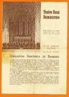 PORTUGAL Santarém - Teatro Rosa Damasceno 18 Janvier 1954 - Concert Orchestre Symphonique De Bamberg - Joseph KEILBERTH - Manifesti & Poster