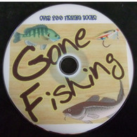 200 FISHING Old Books From 1682-1923. Fishing Reference Library. DVD - Fishing
