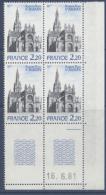N° 2134 Basilique De Ste Anne D'Auray - Coin Daté 16-06-81 - Dated Corners
