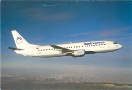 AK Flugzeug SunExpress Sun Express TC-SUT Boeing 737-400 Türkei Türkiye Turkey Airplane Aeroplane Avion Aereo Aviation - 1946-....: Moderne