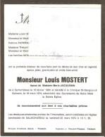 Salmchateau   Famille Monstert  Jaquemain - Décès