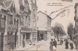 Houilles  L'Avenue De La Gare    (voir Scan) - Houilles