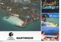 Martinique Multivues Hotel Carayou Tois Ilets Pointe Du Bout N°40963 Atlantide - Other