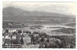 Blick Vom Baumgartnerhaus Auf Ruine Finkenstein, Faakersee Und Gerlitzen, Ungelaufen - Faakersee-Orte
