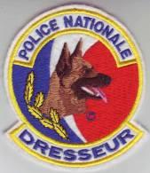 Ecusson Police Nationale DRESSEUR - Police & Gendarmerie