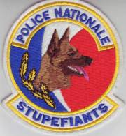 Ecusson Police Nationale   STUPEFIANTS - Police & Gendarmerie