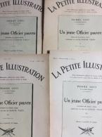La Petite Illustration Théâtrale N°49 à 52 : Un Jeune Officier Pauvre Par Pierre Loti (4 Fascicules) - Non Classés