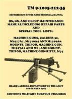 Manuel Technique TM 9-1005. Mitrailleuse BROWNING 1919 Calibre 30 ( 1965 ) - Livres, Revues & Catalogues