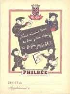 Protege Cahier Illustré Philbée Pain D´épices De Dijon Ourson - Pain D'épices