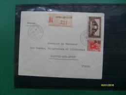 20.5.1940 Raccomandata  TARN Da Algeria Valore  F + 2F Monumenti - Algérie (1924-1962)