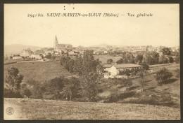 SAINT MARTIN En HAUT Rare Vue Générale (Farges) Rhône (69) - Frankreich