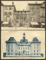 VILLEFRANCHE Sur SAONE Ancien Et Nouvel Hôtel De Ville (Lepas) Rhône (69) - Villefranche-sur-Saone
