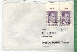 1981 Österreich Nach Deutschland, Mehrfachfrankatur Auf Brief,  Brief Gelaufen, 30.8.81  Größe: 16,3 X 11,5 Cm Zustand: - 1945-60 Briefe U. Dokumente