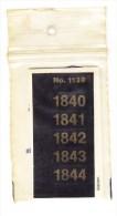 SIGNETTEN, SIGNETTE SAFE 1840/4. - Timbres