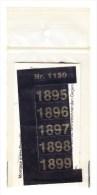 SIGNETTEN, SIGNETTE SAFE 1895/9. - Timbres