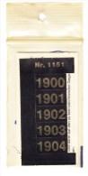 SIGNETTEN, SIGNETTE SAFE 1900/4. - Timbres