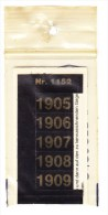 SIGNETTEN, SIGNETTE SAFE 1905/9. - Timbres