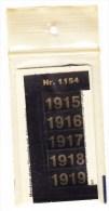 SIGNETTEN, SIGNETTE SAFE 1915/9. - Timbres