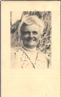 Marie Sylvie Halleux - Dolembreux 1880- Liége 1945 - Vve. De Auguste Gilman - Overlijden