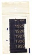 SIGNETTEN, SIGNETTE SAFE 1925/9. - Timbres