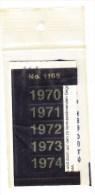 SIGNETTEN, SIGNETTE SAFE 1970/4. - Timbres