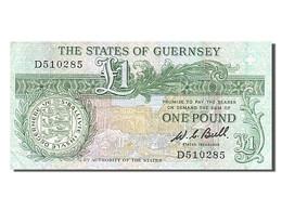 [#254137] Guernesey, 1 Livre, Type Daniel De Lisle Brock - Guernsey