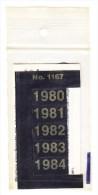 SIGNETTEN, SIGNETTE SAFE 1980/4. - Timbres