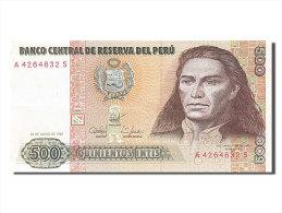 [#254140] Pérou, 500 Intis, Type José Gabriel Condorcanqui Tupac Amaru II - Pérou