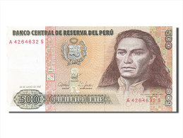 [#254140] Pérou, 500 Intis, Type José Gabriel Condorcanqui Tupac Amaru II - Perú