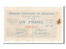 [#154140] Belgique, 1 Franc Type 1914 - [ 2] 1831-... : Koninkrijk België