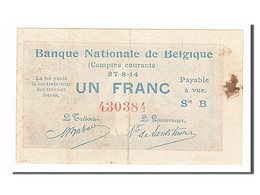 [#154140] Belgique, 1 Franc Type 1914 - [ 2] 1831-... : Belgian Kingdom