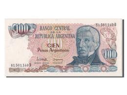 [#302559] Argentine, 100 Pesos Argentinos Type San Martin - Argentine
