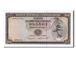 [#107161] Timor, 500 Escudos Type R. D. Aleixo - Billets
