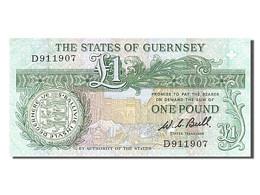 [#254136] Guernesey, 1 Livre, Type Daniel De Lisle Brock - Guernsey