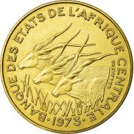 Monnaie, États De L'Afrique Centrale, 5 Francs, 1973, Paris, SUP+ - Monnaies