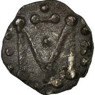 Monnaie, France, Denier Au M, Marseille, TTB, Argent - 470-751 Monete Merovingi
