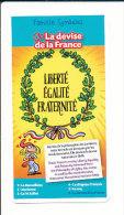Devise NATIONALE : LIBERTE EGALITE FRATERNITE  / Humour Histoire De France  // IM 132 - Vieux Papiers