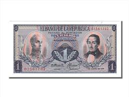 Colombie, 1 Peso Oro Type Bolivar Et Santander - Colombie