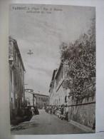 Pisa - Peccioli - Fabbrica - Via Di Mezzo - Ristampa Foto D'Epoca Primi '900 - 2 Scans. - Pisa