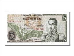 [#150670] Colombie, 5 Pesos Oro Type Cordoba - Colombie