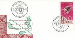 Wallis Et Futuna Premier Jour  UIT - Covers & Documents