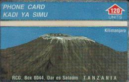 TANZANIA 120 UNITS MOUNT KILIMANJARO  L&G CODE: 410A RARE !!!!!!! TAN-O-02d READ DESCRIPTION  !!!!